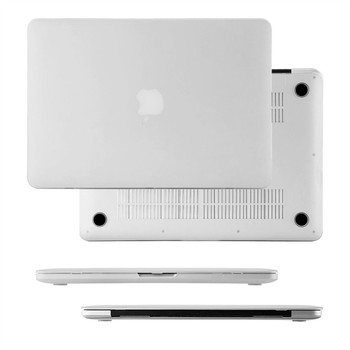 "InventCase Rigid Hard Cover for MacBook Pro 13"" A1278 Laptop - Frosted Clear"