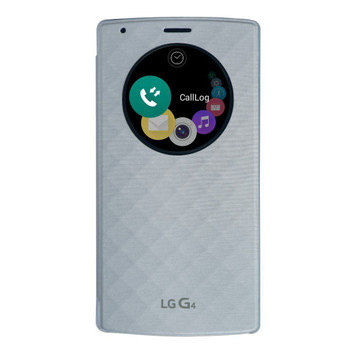 Genuine LG Quick Circle Replacement Back Cover Case for G4 - Blue