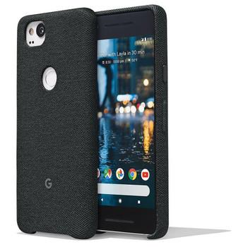 Official Google Pixel 2 Fabric Case Cover - Carbon (GA00159)