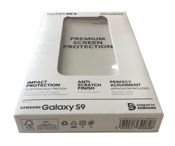 Tech21 Impact Shield Anti-Scratch Screen Protector for Samsung Galaxy S9
