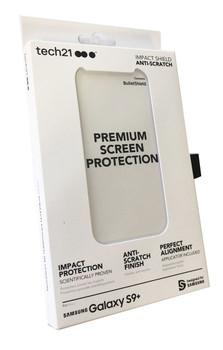 Tech21 Impact Shield Anti-Scratch Screen Protector for Samsung Galaxy S9+ Plus