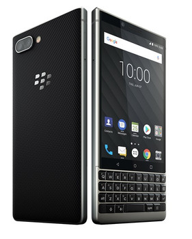 BlackBerry KEY2 Unlocked Single SIM Free Smartphone - Silver - 64GB