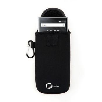 InventCase Neoprene Pouch Case Cover for BlackBerry KEY2 - Black