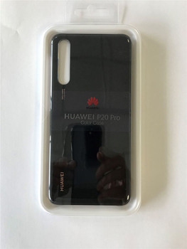 Genuine Huawei P20 Pro Color Protective Hard Back Case - Black