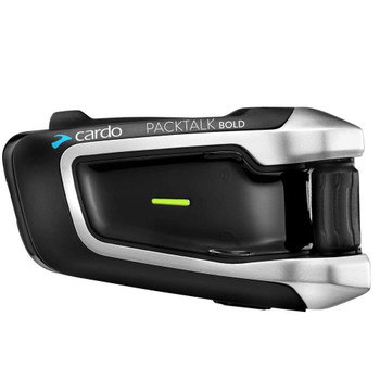 Cardo Scala Rider - BTSRPTB - PackTalk Bold Single Motorcycle Bluetooth Handsfree Headset with DMC Technology