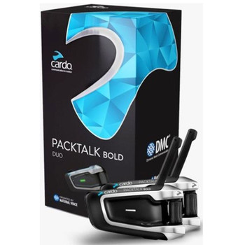 Cardo Scala Rider PackTalk Bold Duo Motorcycle Bluetooth Handsfree with DMC Technology - BTSRPTBD