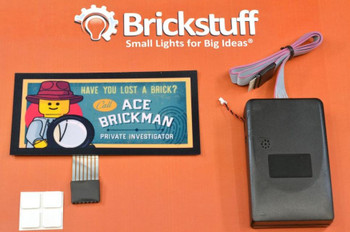 Brickstuff Ace Brickman Animated Billboard - KIT23-AB