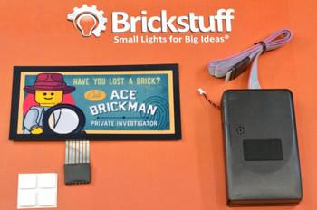 Brickstuff Ace Brickman Animated Billboard - KIT23-AB