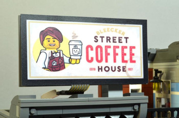 Brickstuff Bleecker Street Coffee House Animated Billboard - KIT23-CH
