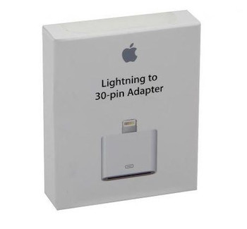 Genuine Official Apple Lightning to 30-pin Adapter - MD823ZM/A