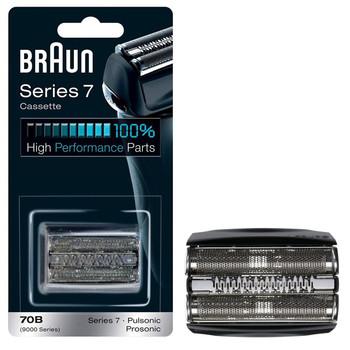 Braun 70B Series 7 Electric Shaver Replacement Cassette Cartridge Foil - Black