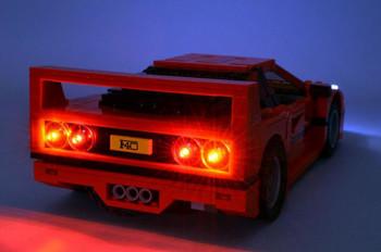 Brickstuff LEGO Ferrari F40 Lighting Kit (#10248) - KIT30