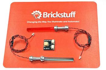 Brickstuff Good vs. Evil Laser Sword 2-Pack with Adapter Board - KIT07