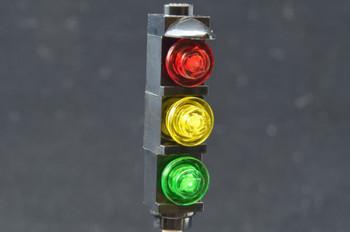 Brickstuff Basic Brick-Built Traffic Light for Lego City Models - KIT17B
