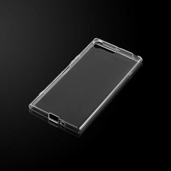 InventCase Premium TPU Gel Case Cover Skin for the Sony Xperia XZ Premium 2017 - 100% Transparent / Clear