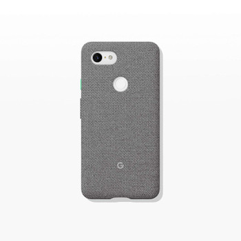 Official Google Pixel 3 XL Fabric Case Cover - Fog (GA00498)