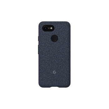 Official Google Pixel 3 Fabric Case Cover - Indigo (GA00488)