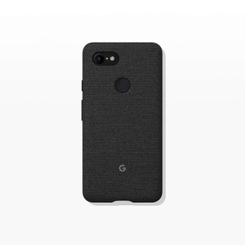 Official Google Pixel 3 XL Fabric Case Cover - Carbon (GA00494)