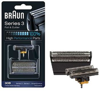 Braun 30B Series 4000 / 7000 Electric Shaver Replacement Foil Cassette Cartridge - Black