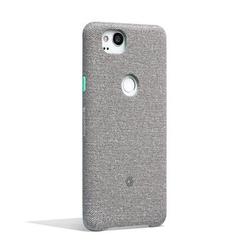 Official Google Pixel 2 Fabric Case Cover - Cement (GA00160)