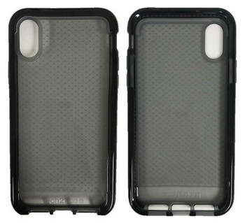 Tech21 Evo Check Case Cover for Apple iPhone X / iPhone XS - Smokey Black
