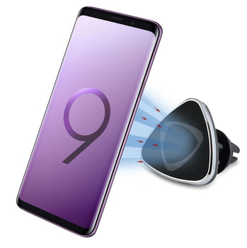 InventCase Air Vent Car Mount Clip Stand Magnetic Mobile Phone Holder for Samsung Galaxy S9 / S9+