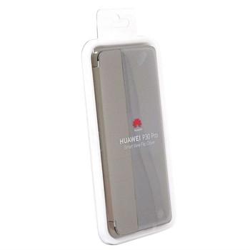 Genuine Official Huawei P30 Pro Smart View Flip Cover - Khaki (51992886)