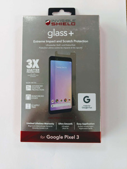 ZAGG invisibleSHIELD Glass+ Screen Protector for Google Pixel 3  - 200301952