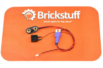 Brickstuff 9-Volt Battery Power Source with On/Off Switch - SEED11