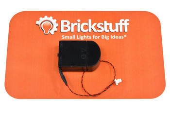 Brickstuff Mini Coin Cell Battery Pack with On/Off Switch - SEED04-M