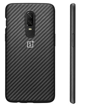 Genuine Official OnePlus 6 Protective Case Bumper Cover - Karbon - 5431100046