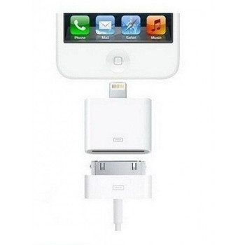 Official Apple Lightning to 30-pin Adapter - MD823ZM/A - No Retail Packaging