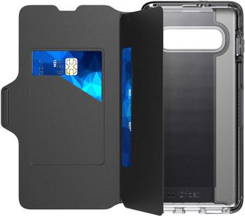 Tech21 Evo Wallet Case Cover for Samsung Galaxy S10+ Plus- Black