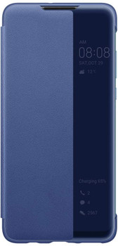 Official Huawei P30 lite Smart View Flip Cover - Blue - 51993077