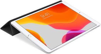 Official Apple iPad Pro 10.5 inch (1st Gen, 2017) Leather Smart Flip Case Cover - Black - MPUD2ZM/A