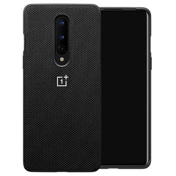 Official OnePlus 8 Nylon Bumper Case - Black