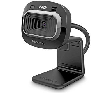 Microsoft LifeCam HD-3000 720P HD Webcam - Black - T3H-00012