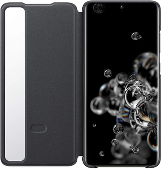 Genuine Official Samsung Galaxy S20 Ultra 5G Clear View Cover Case Flip Cover - Black