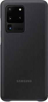 Official Original Samsung Galaxy S20 Ultra 5G Smart Clear View Cover - Black