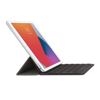 Official Apple Smart Keyboard Case for iPad 8th Generation - British English - Charcoal Grey - MPTL2B/A A1829