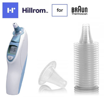 Official Hillrom Welch Allyn Braun Ear Thermometer Probe Covers for Braun ThermoScan 5 IRT 4520