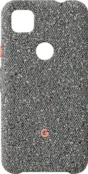 Official Google Pixel 4a Fabric Case Cover - Static Grey (GA02058)