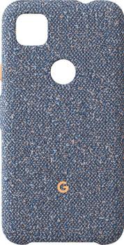 Official Google Pixel 4a Fabric Case Cover - Blue Confetti (GA02057)