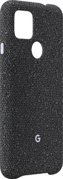 Official Google Pixel 4a 5G Fabric Case Cover - Basically Black (GA02062)