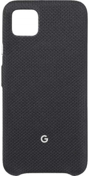 Official Google Pixel 4 Fabric Case Cover - Just Black (GA01280)