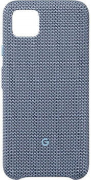 Official Google Pixel 4 Fabric Case Cover - Blue-ish (GA01283)