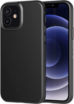 Tech21 Evo Slim Case Cover for Apple iPhone 12 and 12 Pro - Black
