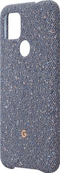 Official Google Pixel 4a 5G Fabric Case Cover - Blue Confetti (GA02063)