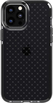 Official Tech21 Evo Check Impact Case for Apple iPhone 12 Pro Max - Smokey Black