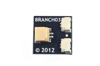 Brickstuff 10-Pack, BRANCH03 Boards Pico LED 1:2 Adapters (Bulk Packed) - BRANCH03-10PK